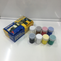 Набор красок для ремонта изделий из кожи, 7 цветов